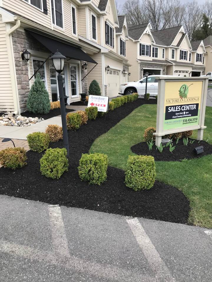 Property Maintenance done by MJ Pelkey - landscaping and mulching